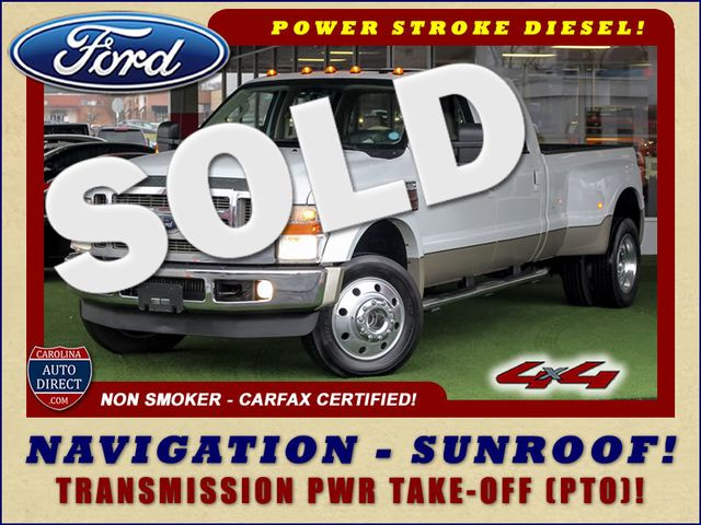2010 Ford Super Duty F-450 Pickup Lariat Crew Cab Long Bed 4x4 - NAV - SUNROOF! Mooresville , NC 0