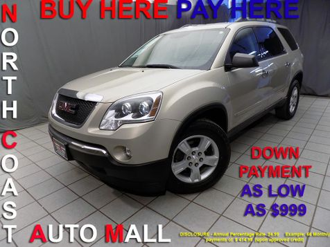 2010 GMC Acadia SLE As low as $999 DOWN in Cleveland, Ohio