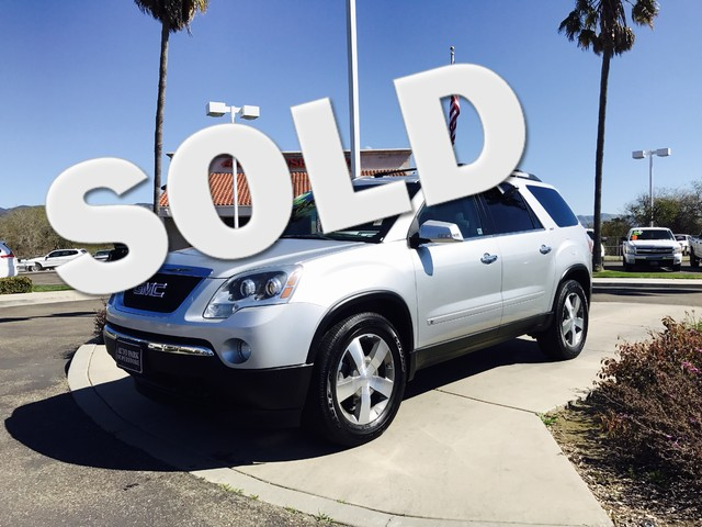 2010 GMC Acadia SLT1 This is a 2010 GMC Acadia Silver Exterior Tan Leather Interior Automatic T