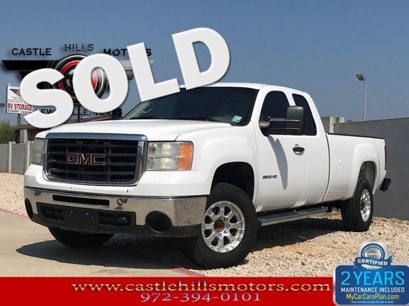 2010 GMC Sierra 2500HD Work Truck | Lewisville, Texas | Castle Hills Motors in Lewisville Texas