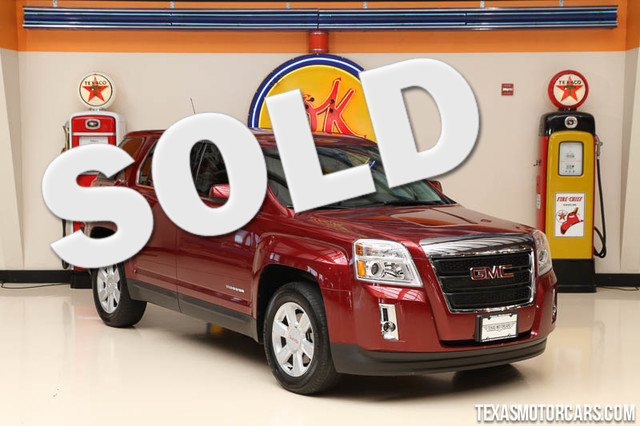2010 GMC Terrain SLE-1 This 2010 GMC Terrain SLE-1 is in great shape with only 20 063 miles The