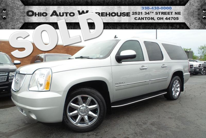 2010 GMC Yukon XL Denali AWD Navi Tv/DVD Sunroof 1-Own We Finance   Canton, Ohio   Ohio Auto Warehouse LLC in Canton Ohio