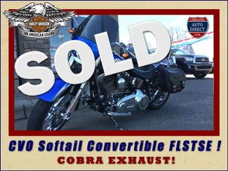 2010 Harley-Davidson CVO Softail Convertible FLSTSE Mooresville , NC
