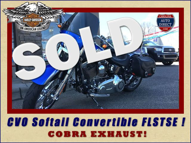 2010 Harley-Davidson CVO Softail Convertible FLSTSE Mooresville , NC 0