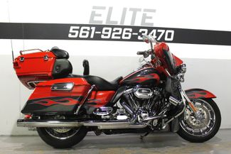 2010 Harley Davidson Ultra Classic CVO Screamin Eagle FLHTCUSE Boynton Beach, FL 40
