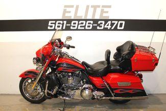 2010 Harley Davidson Ultra Classic CVO Screamin Eagle FLHTCUSE Boynton Beach, FL 9