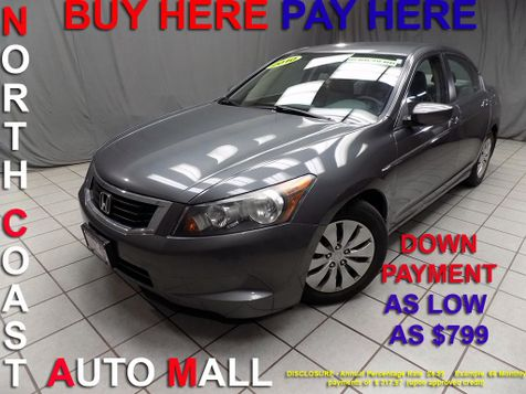 2010 Honda Accord LX As low as $799 DOWN in Cleveland, Ohio