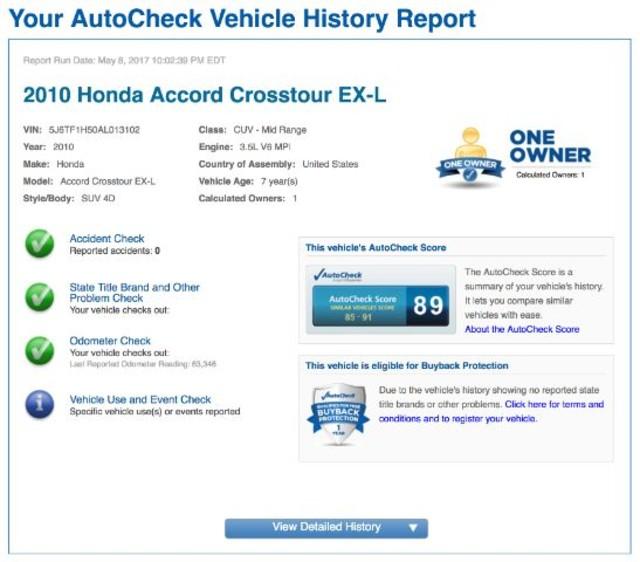 2010 Honda Accord Crosstour EX-L San Antonio , Texas 11