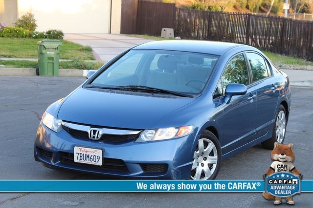 2010 Honda CIVIC LX SEDAN AUTOMATIC SERVICE RECORDS AVAILABLE A/C Woodland Hills, CA 0