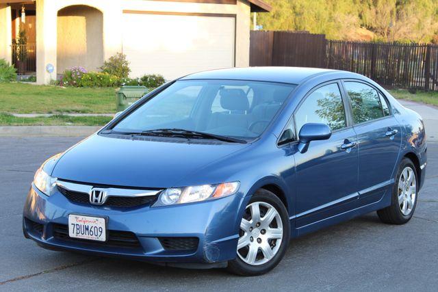 2010 Honda CIVIC LX SEDAN AUTOMATIC SERVICE RECORDS AVAILABLE A/C Woodland Hills, CA 11