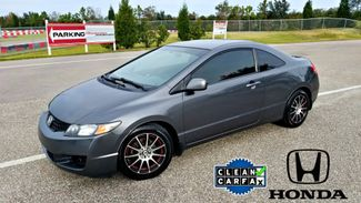 2010 Honda Civic Automatic Coupe LX CLEAN CARFAX CUSTOM WHEELS | Palmetto, FL | EA Motorsports in Palmetto FL