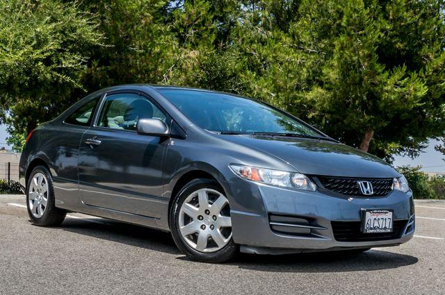 2010 Honda Civic LX COUPE - AUTO - 56K MILES - 1-OWNER Reseda, CA 3