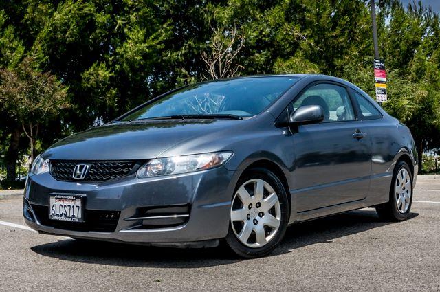 2010 Honda Civic LX COUPE - AUTO - 56K MILES - 1-OWNER Reseda, CA 1
