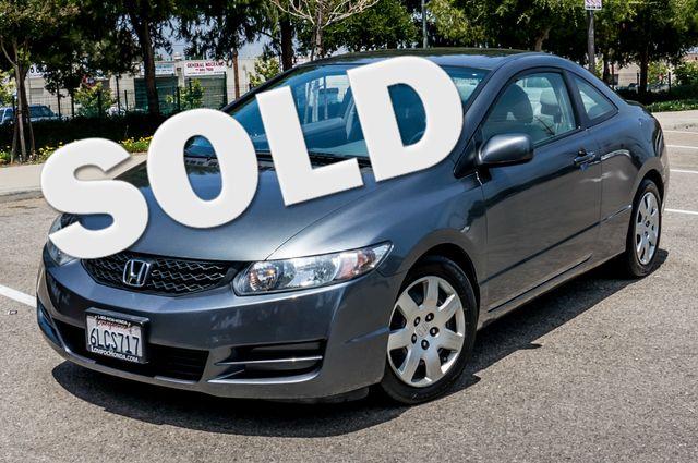 2010 Honda Civic LX COUPE - AUTO - 56K MILES - 1-OWNER Reseda, CA 0