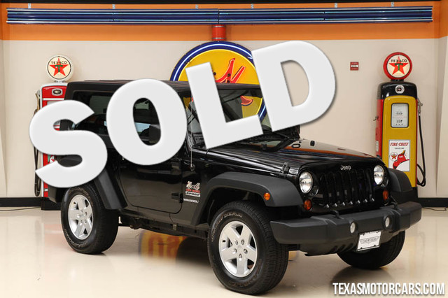 2010 Jeep Wrangler Sport This Carfax 1-Owner 2010 Jeep Wrangler Sport is in great shape with only