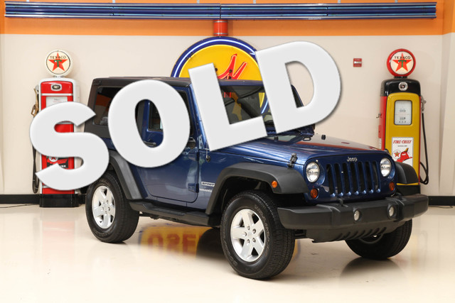2010 Jeep Wrangler Sport This clean Carfax 2010 Jeep Wrangler Sport is in great shape with only 13