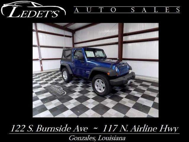 2010 Jeep Wrangler Sport - Ledet's Auto Sales Gonzales_state_zip in Gonzales Louisiana