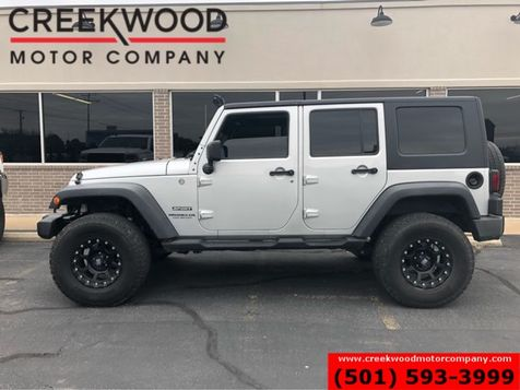 2010 Jeep Wrangler Unlimited Sport 4x4 Lifted Hardtop Auto Black XDs 35