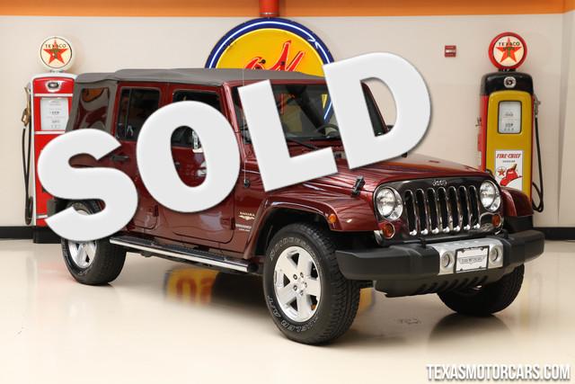 2010 Jeep Wrangler Unlimited Sahara This Carfax 1-Owner 2010 Jeep Wrangler Unlimited Sahara is in
