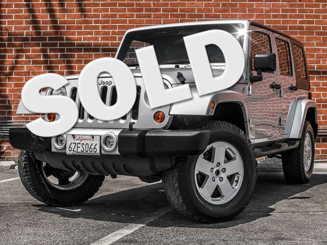 2010 Jeep Wrangler Unlimited Sahara Burbank, CA 0