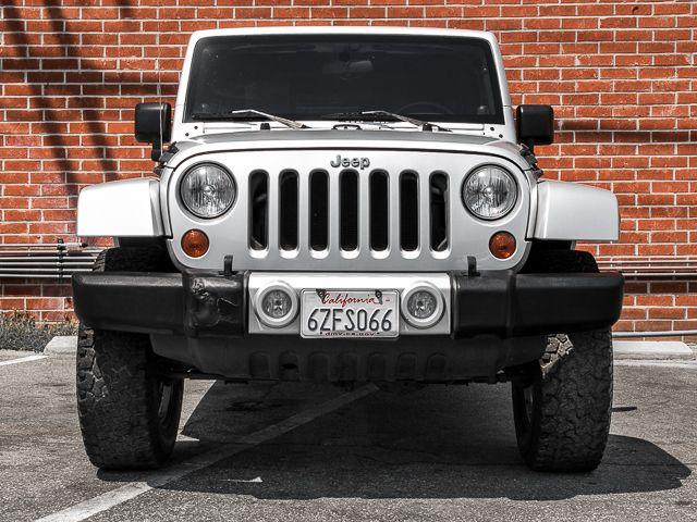 2010 Jeep Wrangler Unlimited Sahara Burbank, CA 1