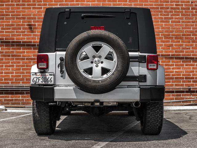 2010 Jeep Wrangler Unlimited Sahara Burbank, CA 3