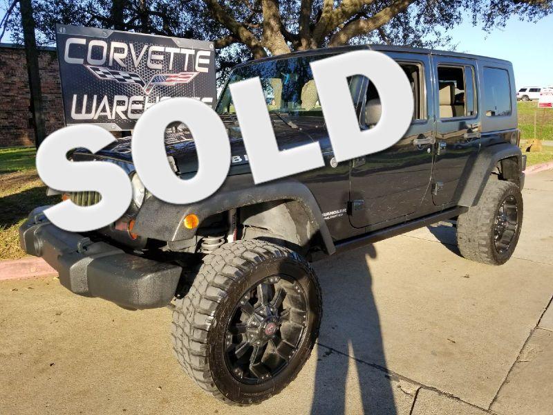 2010 Jeep Wrangler Unlimited Rubicon NAV, Bluetooth, Alloys!! | Dallas, Texas | Corvette Warehouse