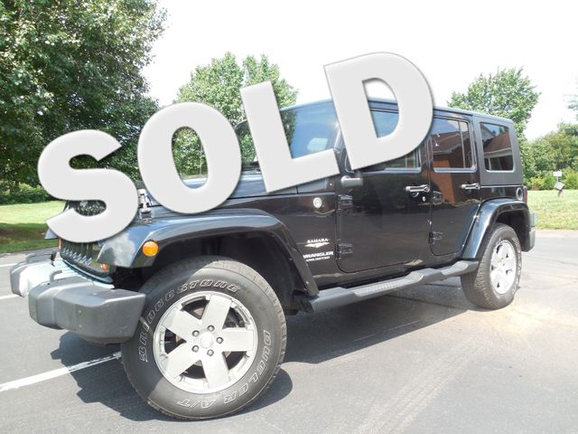 2010 Jeep Wrangler Unlimited Sahara Leesburg, Virginia 0