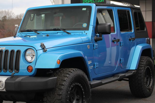 2010 Jeep Wrangler Unlimited Sahara 4X4 - NAV - LIFTED - EXTRA$! Mooresville , NC 27