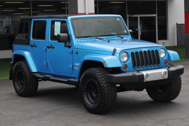 2010 Jeep Wrangler Unlimited Sahara 4X4 - NAV - LIFTED - EXTRA$! Mooresville , NC 22