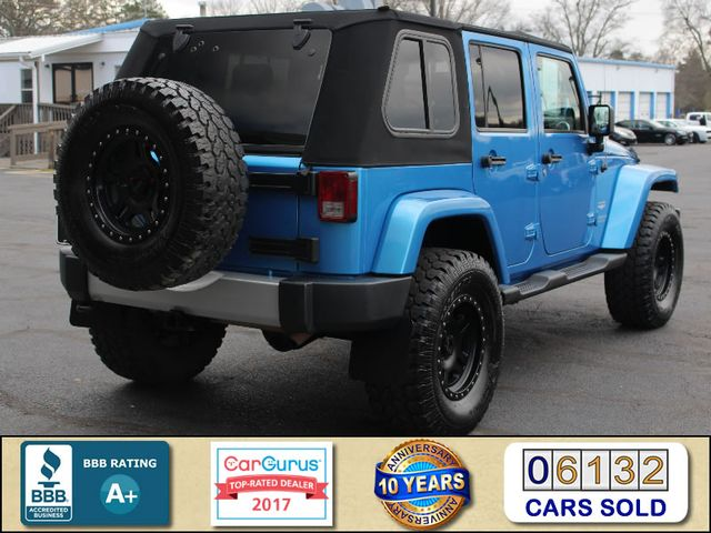 2010 Jeep Wrangler Unlimited Sahara 4X4 - NAV - LIFTED - EXTRA$! Mooresville , NC 2
