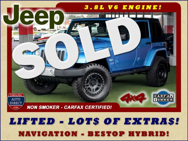 2010 Jeep Wrangler Unlimited Sahara 4X4 - NAV - LIFTED - EXTRA$! Mooresville , NC 0