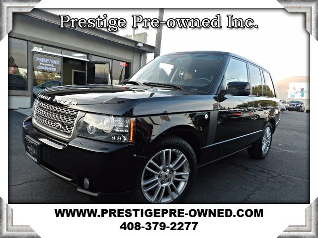 2010 Land Rover Range Rover HSE 2010 LAND ROVER RANGE ROVER HSE---90K SERVICE ALREADY COMPLETE