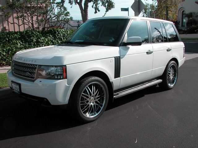 2010 land rover range rover hse for sale in los angeles. Black Bedroom Furniture Sets. Home Design Ideas