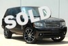 2010 Land Rover Range Rover HSE * LUX PKG * 22's * Black Wood * PWR BOARDS * Plano, Texas