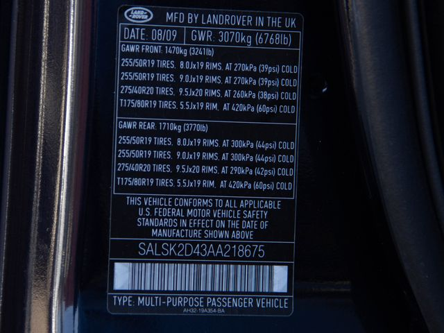 2010 Land Rover Range Rover Sport HSE LUX Burbank, CA 36