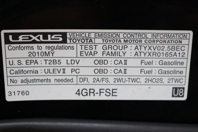 2010 Lexus IS 250 Mooresville, North Carolina 76