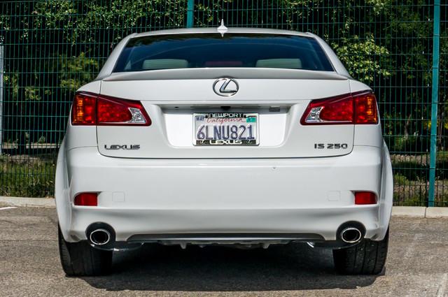 2010 Lexus IS 250 AUTO - 67K MILES - NAVI - HTD/CLD STS Reseda, CA 8