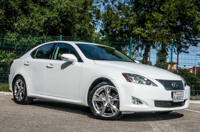 2010 Lexus IS 250 AUTO - 67K MILES - NAVI - HTD/CLD STS Reseda, CA 4