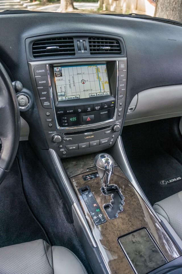 2010 Lexus IS 250 AUTO - 67K MILES - NAVI - HTD/CLD STS Reseda, CA 21