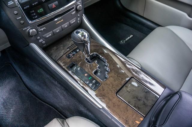 2010 Lexus IS 250 AUTO - 67K MILES - NAVI - HTD/CLD STS Reseda, CA 27