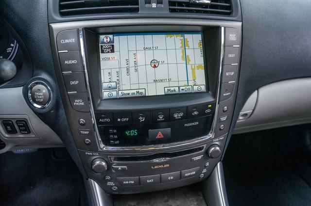 2010 Lexus IS 250 AUTO - 67K MILES - NAVI - HTD/CLD STS Reseda, CA 22