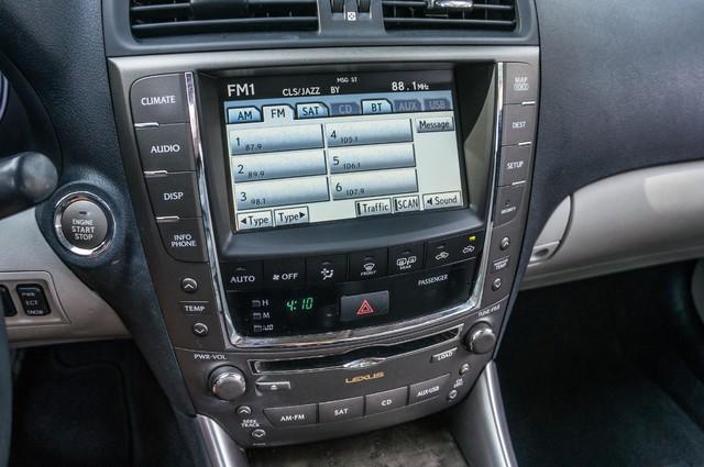 2010 Lexus IS 250 AUTO - 67K MILES - NAVI - HTD/CLD STS Reseda, CA 24