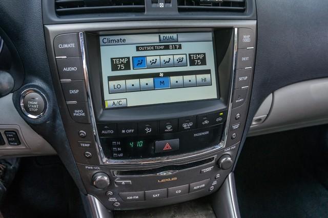 2010 Lexus IS 250 AUTO - 67K MILES - NAVI - HTD/CLD STS Reseda, CA 25