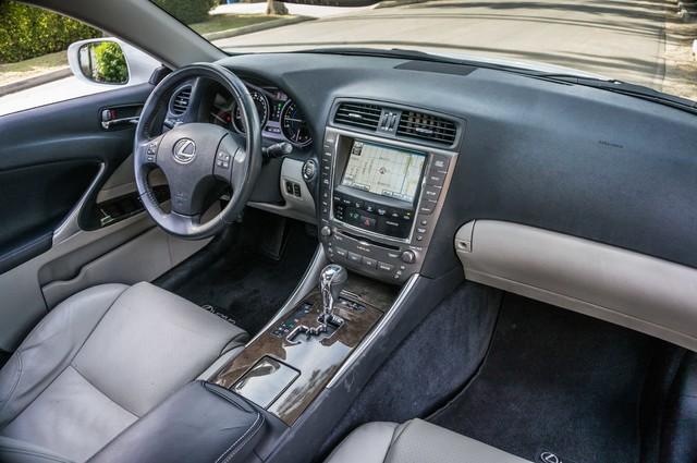 2010 Lexus IS 250 AUTO - 67K MILES - NAVI - HTD/CLD STS Reseda, CA 33