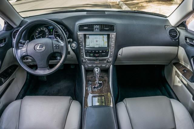 2010 Lexus IS 250 AUTO - 67K MILES - NAVI - HTD/CLD STS Reseda, CA 17