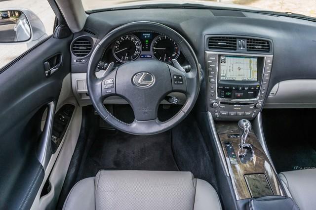 2010 Lexus IS 250 AUTO - 67K MILES - NAVI - HTD/CLD STS Reseda, CA 18