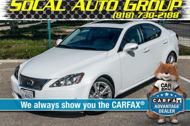 2010 Lexus IS 250 AUTO - 67K MILES - NAVI - HTD/CLD STS Reseda, CA 0