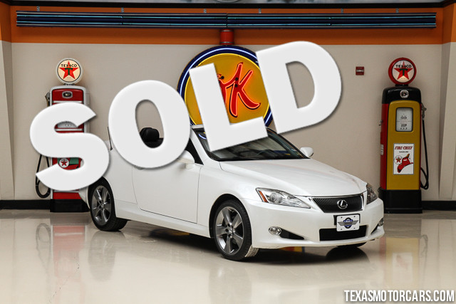 2010 Lexus IS 250C This Clean Carfax 2010 Lexus IS 250C is in great shape with only 100 979 miles