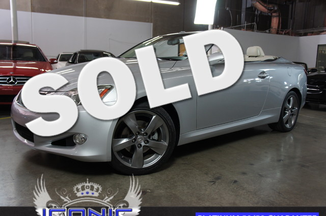 This 2010 Lexus IS 250C Luxury PKG is a Iconic Motors Featured Car